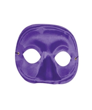 Purple Masquerade Adult Mask