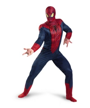 Amazing Spiderman Mens Costume
