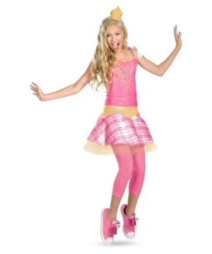 Aurora Disney Tween Girls Costume