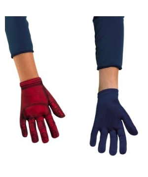 Avengers Captain America Kids Gloves