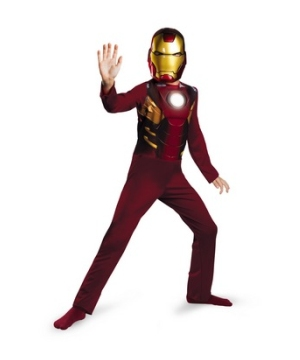 Avengers Iron Man Mark 7 Boys Costume