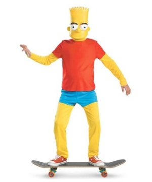 Bart Simpson Costume deluxe
