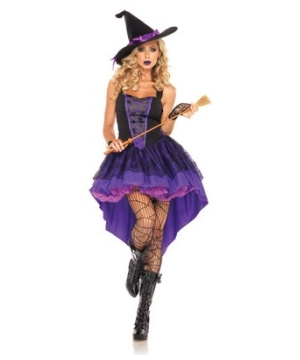 Broomstick Witch Women Costume