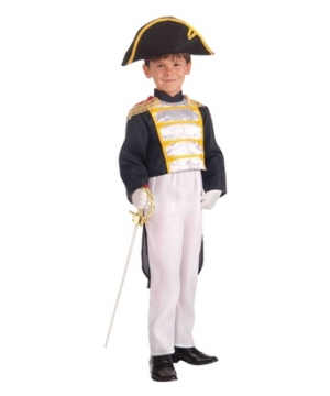 Colonial General Kids Costume