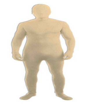 Disappearing Man Adult Costume Beige