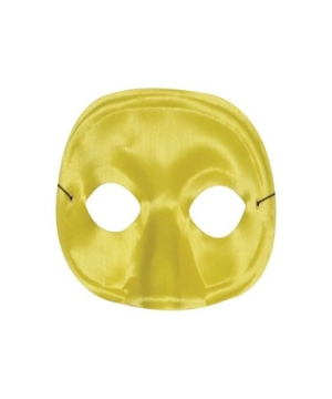 Yellow Masquerade Adult Mask
