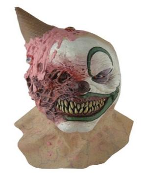 Adult Eye Scream Clown Mask Costume Mask