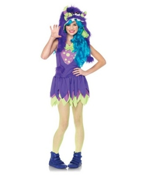Gerty Growler Monster Teen Costume