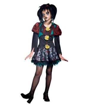 Gothic Scary Merry Girl Costume