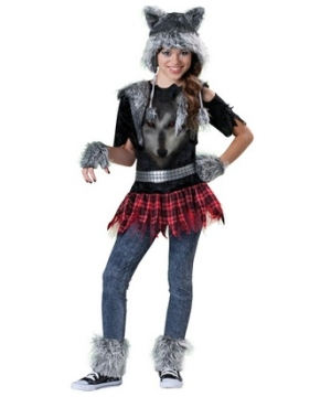 Kids Wear Wolf Costume