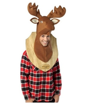 Loose Moose Trophy Head Costume