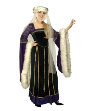 Medieval Lady Womens Costume