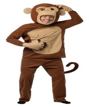 Mens Monkey Costume