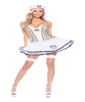 Naughty Sailor Women Costume