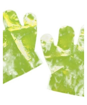 Neon Glow Hands Kids Gloves