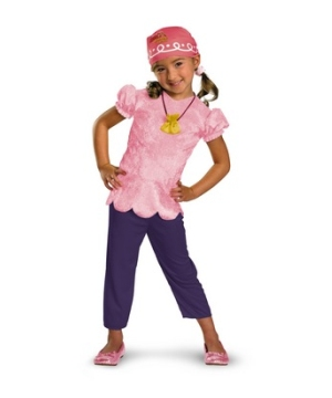 Never Land Izzy Girl Costume