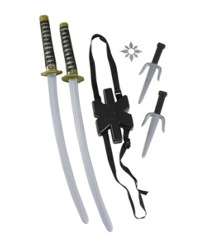 Ninja Double Sword Set
