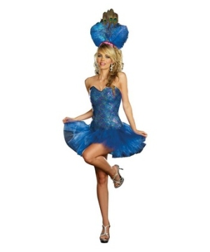 Peacock Envy Costume