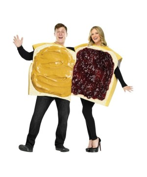 Peanut Butter Jelly Couple Costume