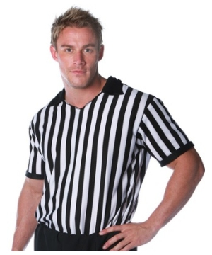 Referee Adult plus size Costume