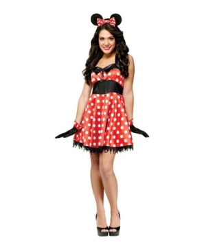 Retro Miss Mouse Womens Costume
