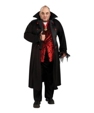 Royal Vampire Adult plus size Costume