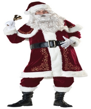 Jolly Ole Saint Nick Mens Costume