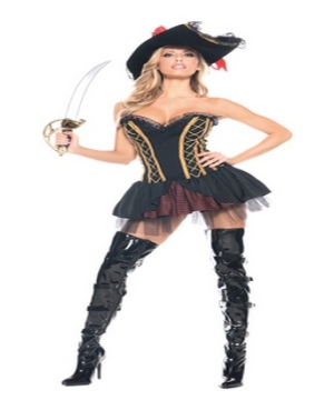 Seven Seas Pirate Women Costume