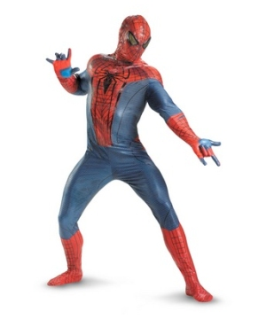 Spiderman Mens Theatrical Costume