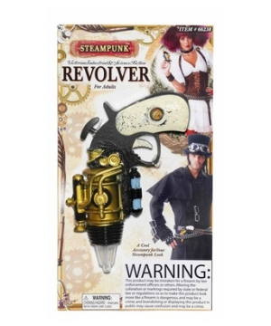 Steampunk Toy Revolver