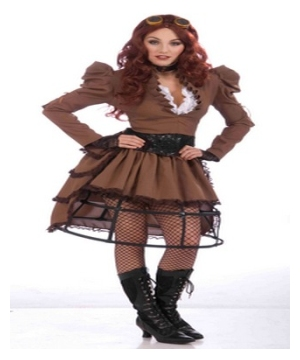 Ste&unk Vicky Adult Costume  sc 1 st  Wonder Costumes & Steampunk Costumes - Science Fiction u0026 Victorian outfits