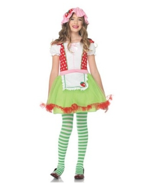 Strawberry Sweetie Kids Costume