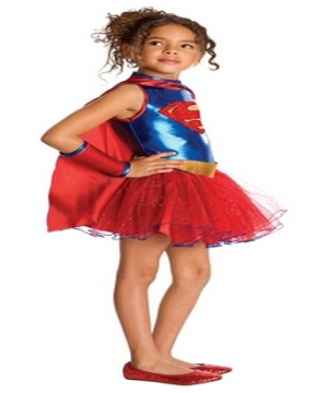 Supergirl Girls Costume