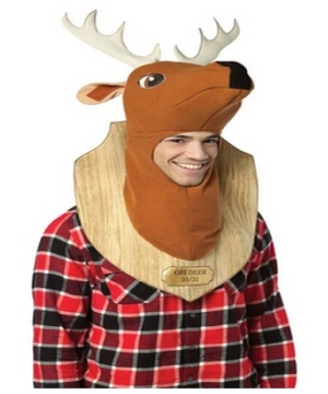 Trophy Head Deer Adult Costume