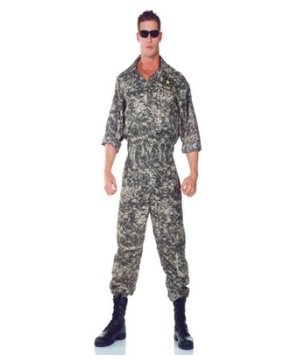 Us Army Adult plus size Costume