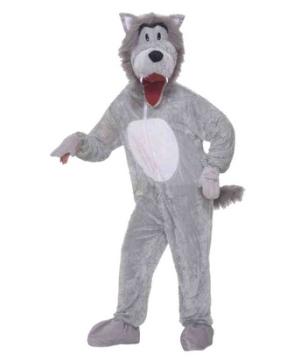 Adult Wolf Mascot Animal Costume Animal Mascot Costume