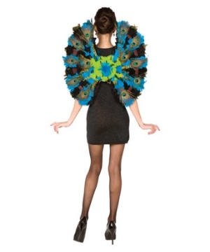 Womens Peacock Wings Costume
