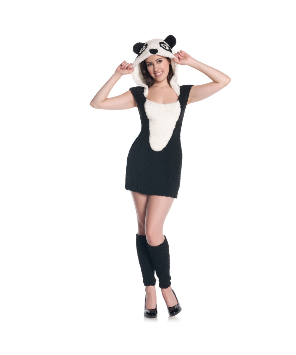 panda teen costume - panda halloween costumes
