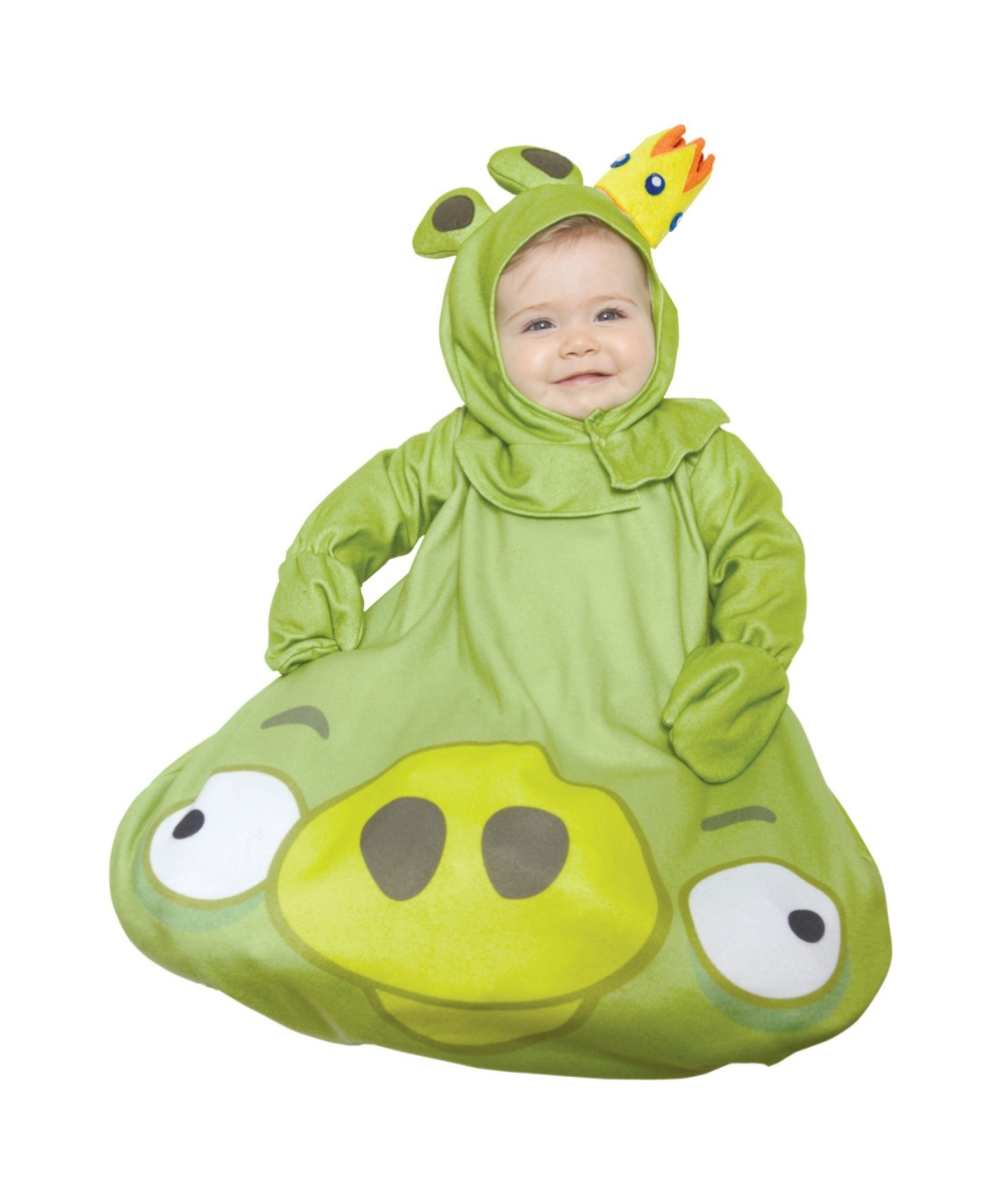 Angry Birds King Pig Baby Costume  sc 1 st  Wonder Costumes & Angry Birds King Pig Baby Halloween Costume - Baby Halloween Costumes