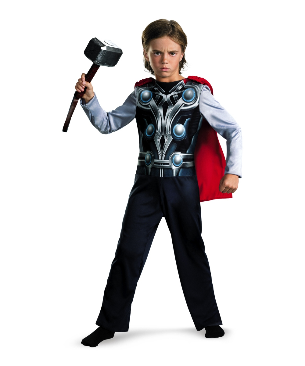 cf0b35b6bb4e Avengers Thor Muscle Kids Movie Costume - Boys Costumes