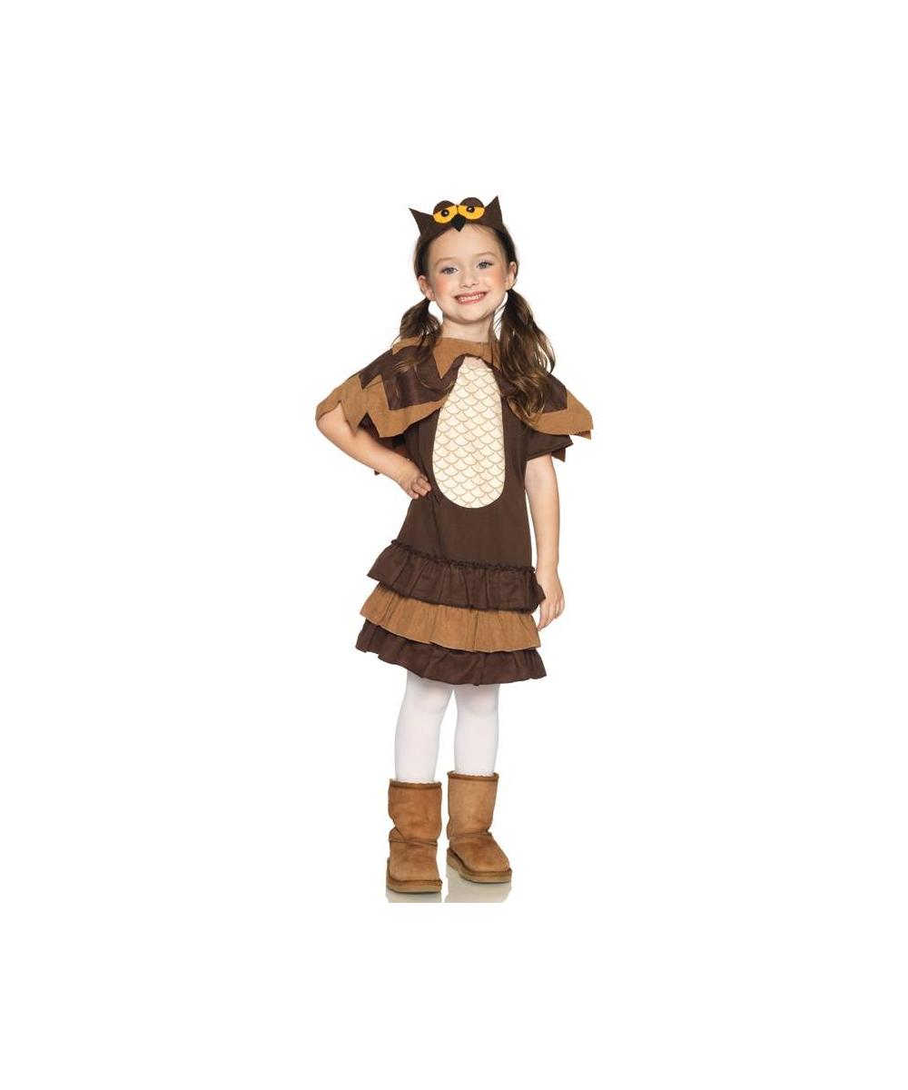 sc 1 st  Wonder Costumes & Adorable Owl Girl Costume - Girl Costumes
