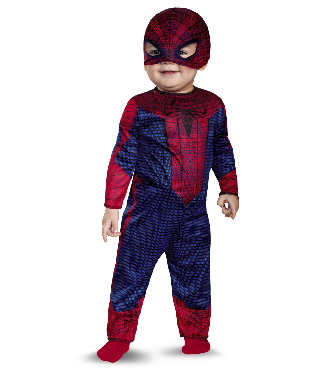 sc 1 st  Wonder Costumes & The Amazing Spiderman Baby Costume
