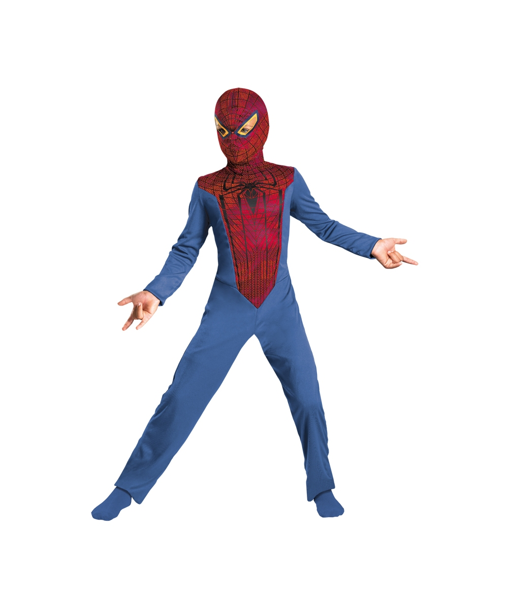The Amazing Spiderman Boys Costume  sc 1 st  Wonder Costumes & Spiderman Amazing Kids Costume - Boy Spider Man Costumes