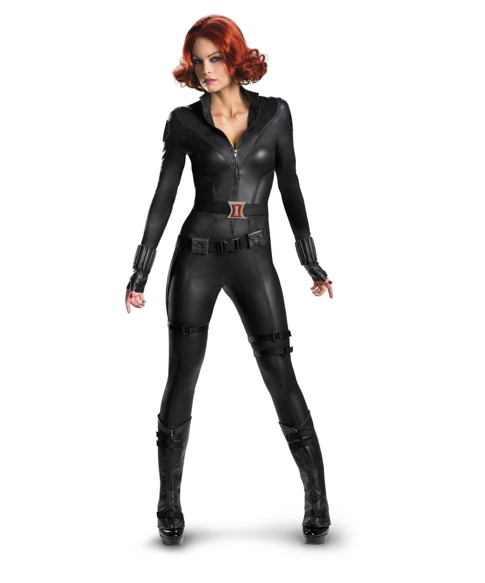 Adult The Avengers Black Widow Movie Superhero Costume -6778