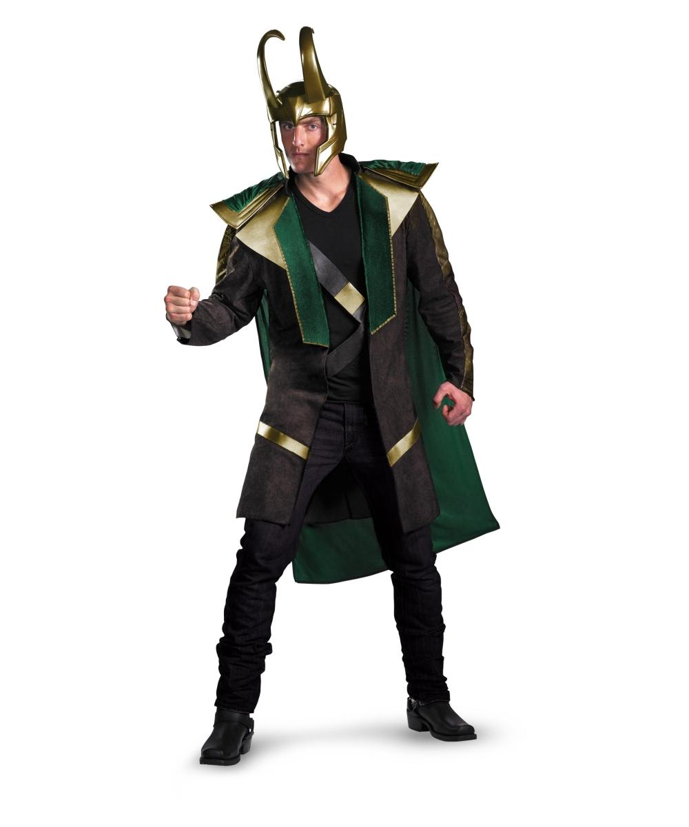 adult the avengers loki movie halloween costume