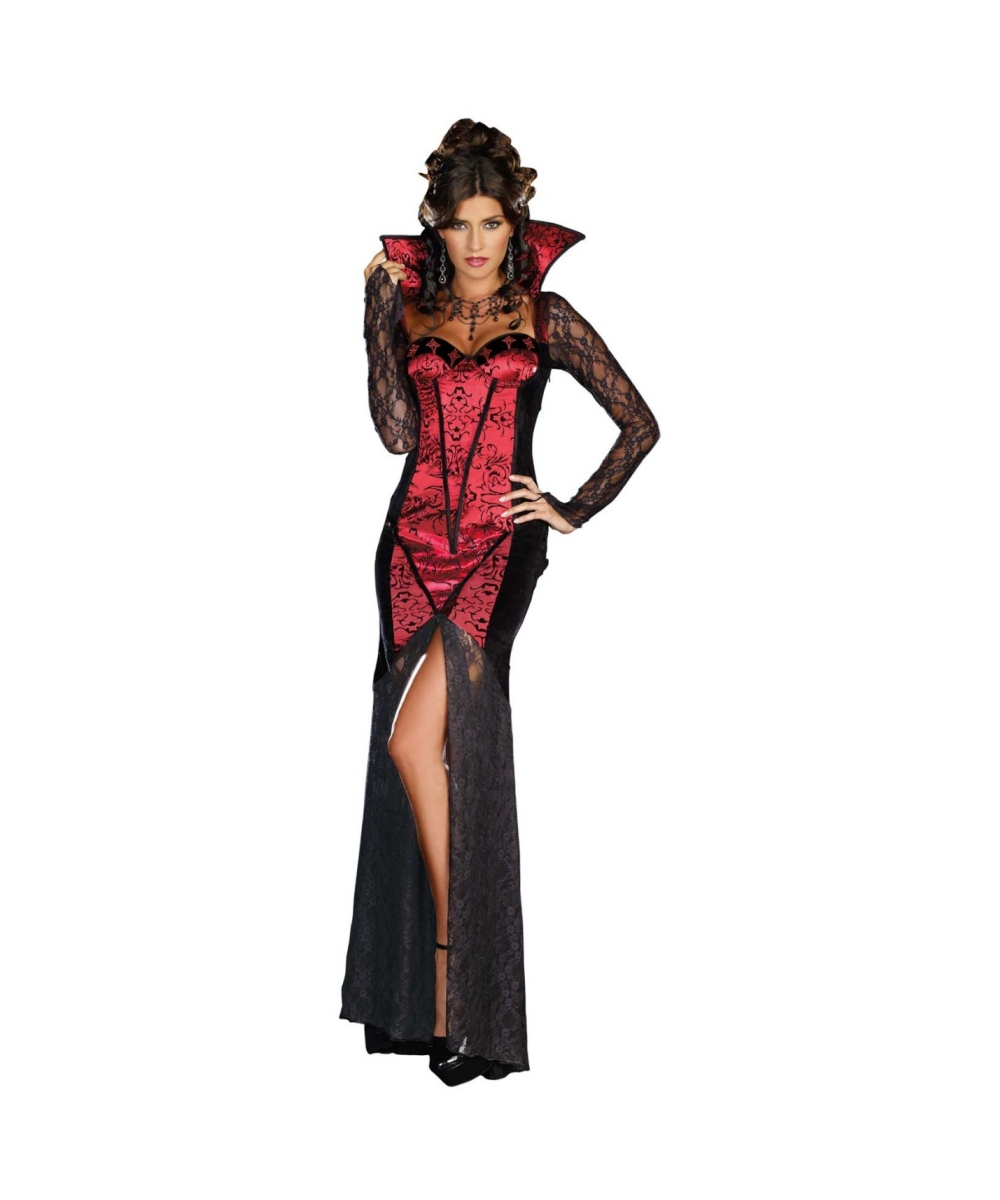 vampire just one bite adult costume vampire halloween costumes. Black Bedroom Furniture Sets. Home Design Ideas