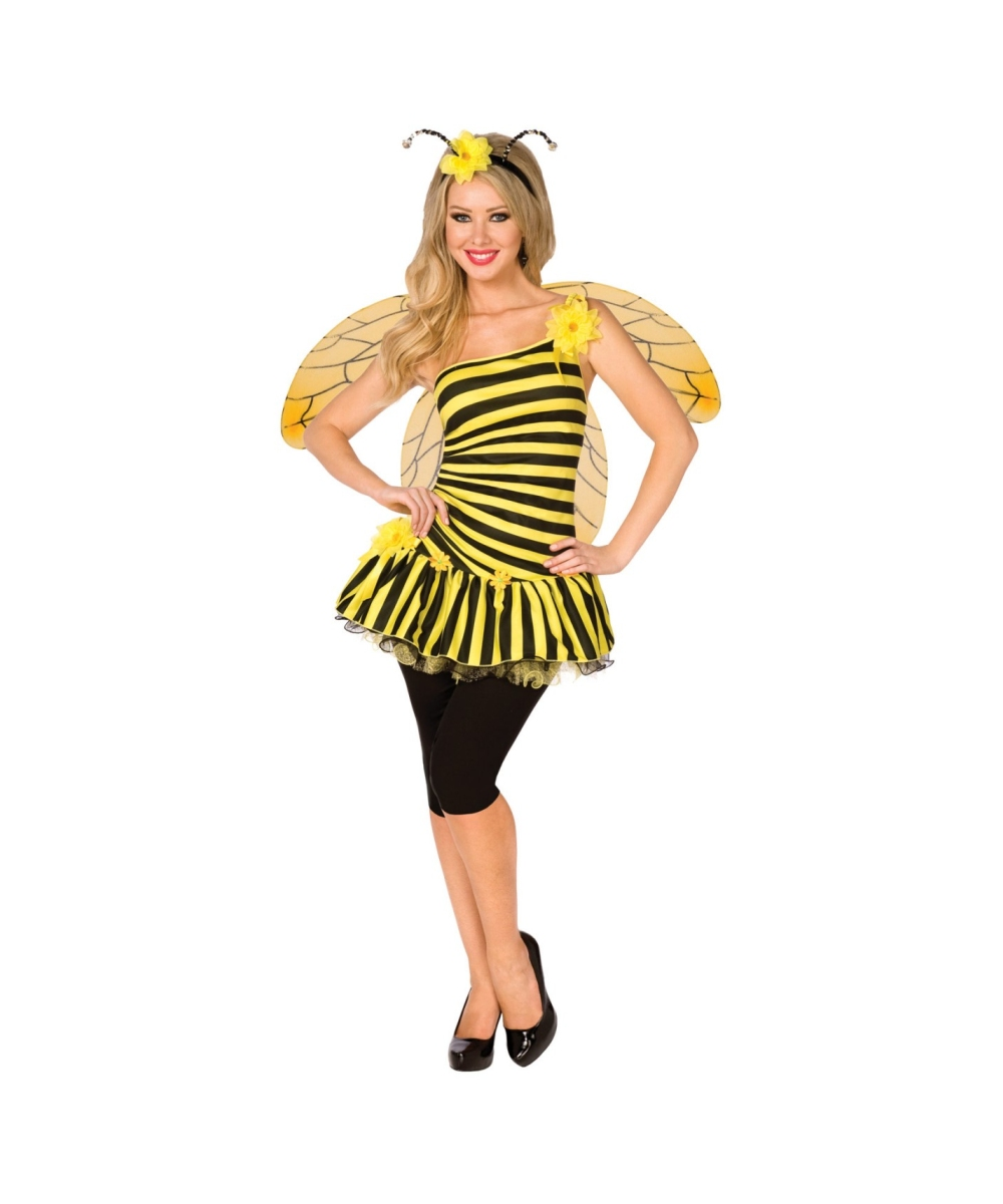sc 1 st  Wonder Costumes & Adult Bumble Bee Costume - Sexy Halloween Costumes