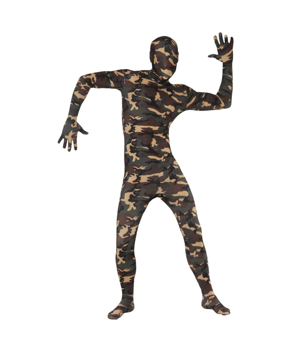 sc 1 st  Halloween Costumes & Adult Camouflage Second Skin Suit Halloween Costume - Adult Costumes