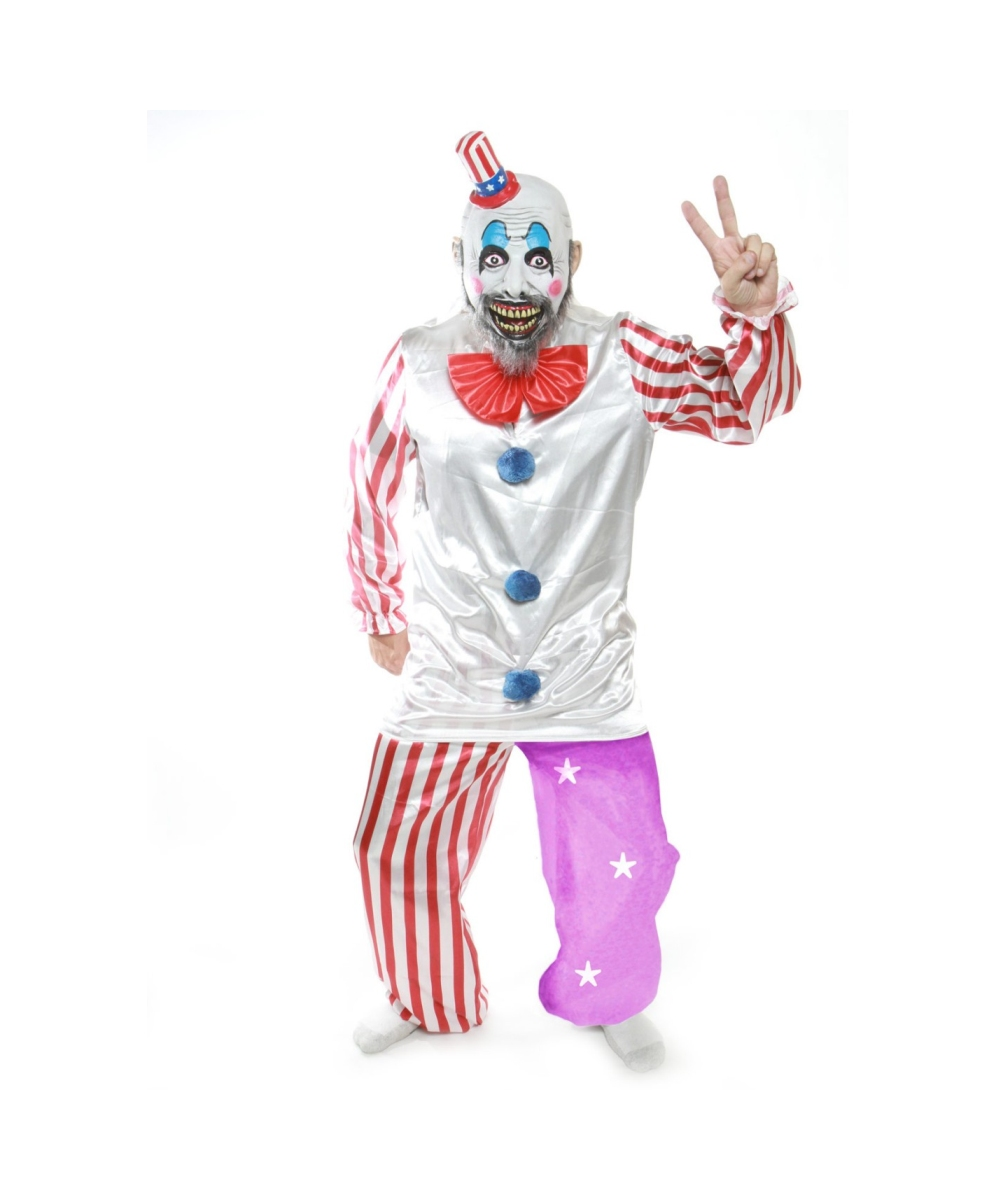 sc 1 st  Halloween Costumes & Adult Captain Spaulding plus Movie Halloween Costume - Men Costumes