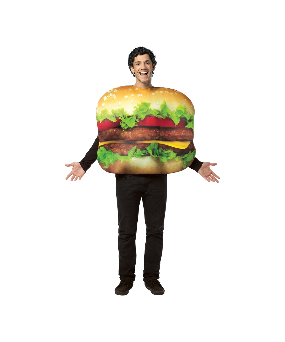 cheeseburger costume for adults halloween costumes